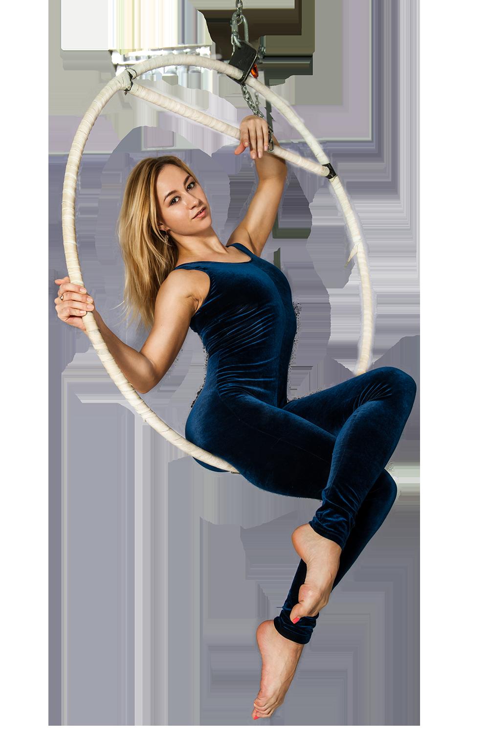 Воздушная гимнастика на кольце (Aerial ring)